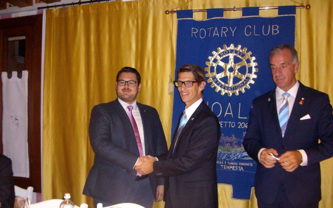 Marco Mattei: nuovo socio del Rotary Club Noale dei Tempesta!