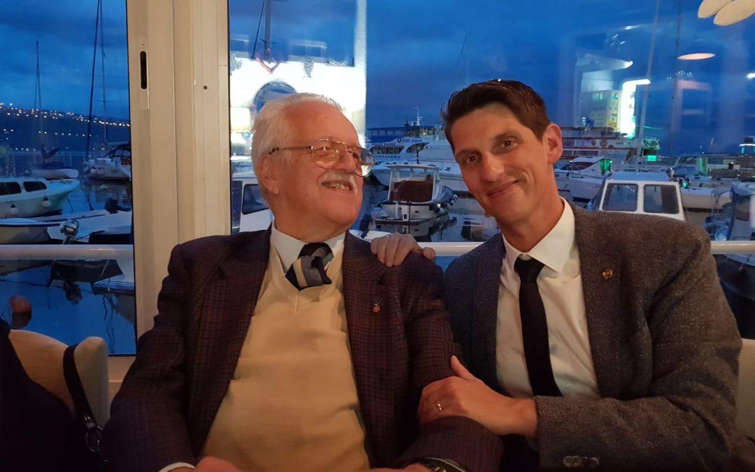 L'incontro con Oleg Mandic: l'ultimo bambino ad uscire vivo da Auschwitz!