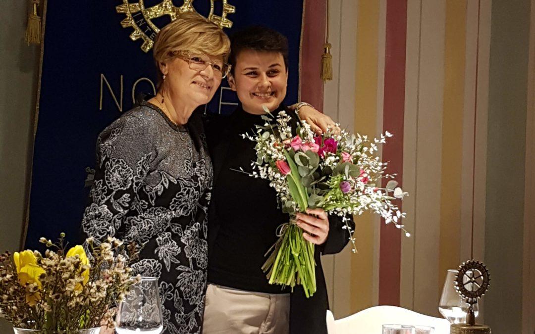 Serata con la regista noalese Giulia Canella